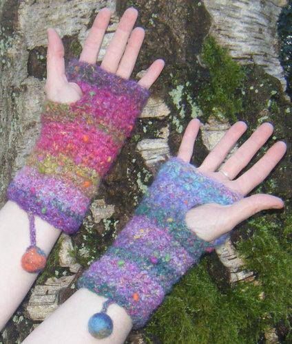 Crochet Workshop Freeform Gloves Crocheted Wristwarmers Lessons Classes Craft Holidays Creative Retreats Wool Beginners 5
