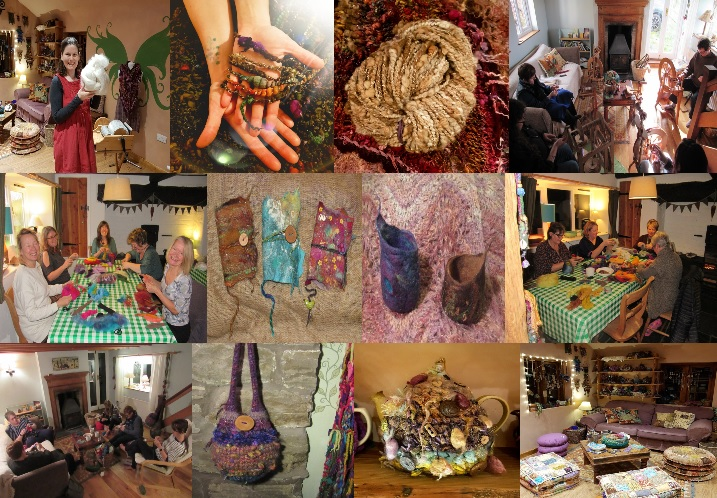 Wild Creative Textiles Workshops Crafts Felting Spinning Yarn Crochet Knitting Weaving 1